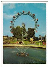 Postcard: The Prater and the Giant Wheel, Vienna, Austria