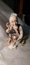 Vintage Porcelain Old Man Figurine Must See!