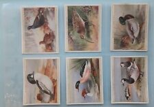 More details for players 1928 game birds and wild fowl set of 25 large cigarette cards