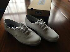 NIB Keds Women 7.5 M White Leather Champion 2K champ  Tennis Shoes NEW