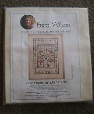 Vtg 1986 Erica Wilson cuxa cloister Metropolitan Museum needle crosstitch God