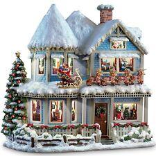 THOMAS KINKADE THE NIGHT BEFORE CHRISTMAS STORY HOUSE 79490 W/ COA NEW
