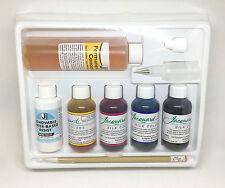 Jacquard Silk Dye Painting Set Starter Pack Kit - Wool Silk - Water-Based Resist