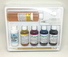 Conjunto De Pintura Jacquard Seda tinte Pack Starter Kit-Lana Seda a base de agua resistir