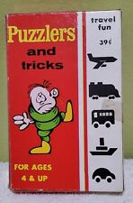 Vtg Warren Paper Products Co.Puzzlers & Tricks 20 Unused Travel Cards EUC RARE