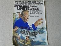 Humphrey Bogart, Die Caine war ihr Schicksal (WA 66)- Original Filmplakat DIN A1