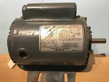 GE 1/2 hp 1725rpm 120/230 electric blower motor with capacitor