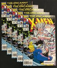5 LOT UNCANNY X-MEN #306 1993 HIGH GRADE