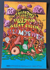 Bg 156 Creedence Ccr Fleetwood Mac Fillmore Concert Postcard 1969 Lee Conklin