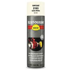 X 10 industriale Rust-oleum Bianco satinato Spray Vernice Cappello rigido 500ml