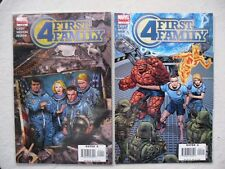 FANTASTIC FOUR: FIRST FAMILY N°1 A 6 RUN COMPLET VO NEUF / NEAR MINT / MINT