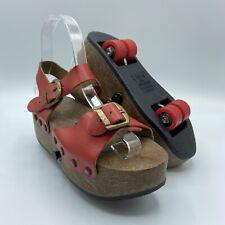 Vintage Platform PopOut Sandal Skates Omnia'c Made In Italy Size5-34-2