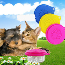 Cute Pet Dog Food Can Tin Cover Lid Standard Size Plastic Cover
