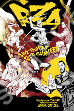 WU-TANG CLAN 12x18 LIVE FROM THE 36TH  CHAMBER CONCERT POSTER LIVE RAP GZA RZA 3