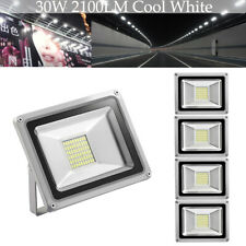 5 Set 30W LED Flood Light Outdoor Landscape Lamp Cool White Garden Fixtures US