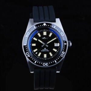 62MAS Mechanical automatic diver  sapphire 300m water resistance men's watch