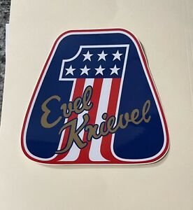 Vintage Style Evel Knievel AMF BMX Bicycle Decal