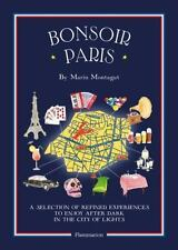 Bonsoir Paris Map Guide to EXCITING NIGHTLIFE Marin Montagut (2016, Paperback)