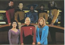 "STAR TREK - NEXT GENERATION - Selection of 12 Official Paramount 6"" x 4"" P/Cards"