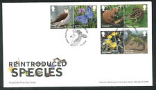 2018 Reintroduced Species FDC -Osprey Place Didcot  Postmark -Sent Post Free