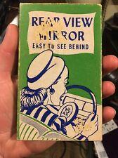 Vintage 1947 H. Fishlove & Co. Rear View Joke Box