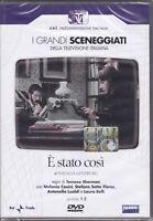 2 Dvd Box Sceneggiati Rai E' STATO COSI' con Stefania Casini completa nuovo 1977
