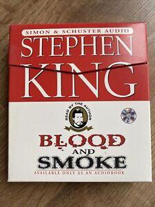 Stephen King: Blood And Smoke (CD Audiobook)