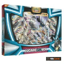 Pokemon: Lucario GX Collection Box: Inc 4 Booster Packs + Promo Cards