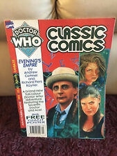 Doctor Who Classic Comics Autumn Holiday Special #1993; Marvel UK WITH POSTER