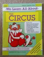 We Learn About The Circus  PreK-1st Grade New