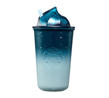 Starbucks Korea 2020 Night Sky Ceramic Cold cup 355ml / 12oz Limited Edition