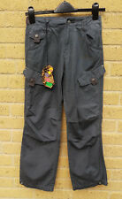 Women's Mambo Cargo Pants Trousers Grey Size 10 Cotton  BNWT Festivals