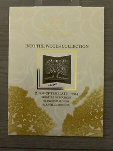 COUTURE BY CREATE AND CRAFT - INTO THE WOODS  - 2 pop up template 17314