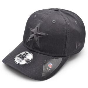 Dallas Cowboys New Era Core Classic Tonal Graphite 9Twenty NFL Adjustable Hat