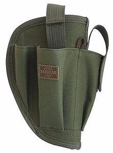 OD Green Right Handed Belt Holster w/Clip Pouch BB Airsoft Pistol Hand Gun 200GR