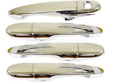 for Chevy Buick Pontiac Outside Exterior Door Handle Chrome ABS Complete Set 4