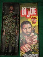 "Rare 2006 11""  Gijoe Hasbro Land Adventure Team Bearded Figure Kung Fu Grip Doll"