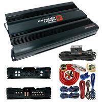 Cerwin Vega CVP2500.5D 2500W 5-Channel Car Audio Amplifier + 5 Channels Amp Kit
