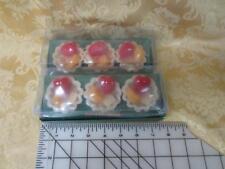 6 New Yankee Candle Peach & Sweet berries Tarts Wax Potpourri very cute