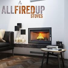 Kratki Jas 7kw Inset Wood Burning Stove Modern Design With Frame Option