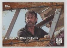2017 Topps The Walking Dead Season 7 Rust #73 Wheel of Misfortune Card 5b4