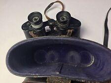 Rare WW2 Binoculars 1942 BU Ships Navy Loan German Carl Zeiss Jena Silvamar