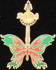 Hard Rock Cafe BELFAST 2004 TATTOO BUTTERFLY GUITAR Series PIN Catalog #23689