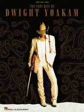 The Very Best of Dwight Yoakam Sheet Music Piano Vocal Guitar SongBook 000306920