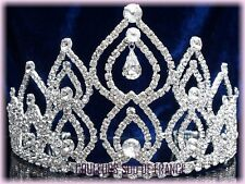 """Bijoux de mariage diadème pageant tiara cristal clair """"ARLESIENNE"""" Miss Mariée"""