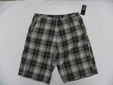 Billabong Walkshorts Shorts Sz 32 Grey Plaid