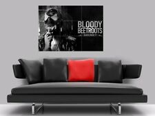 "BLOODY BEETROOTS BORDERLESS MOSAIC TILE WALL POSTER 35"" x 25"" ELECTRO HOUSE"
