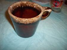 Brown Drip Coffee Cup - Usa - Oven Proof On Bottom