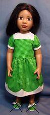 Polka Dot dress for Magic Attic, Carpatina, A Girl for All Time AGAT AGFAT dolls
