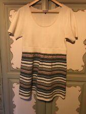 Papaya Size 14 Fairisle Knit Dress Tunic Wool Mix